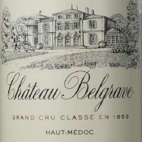 Château Belgrave Red 2017